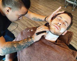 beard-shaving