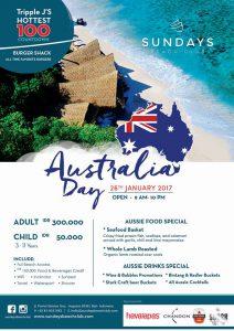 Sundays Aus Day 2017