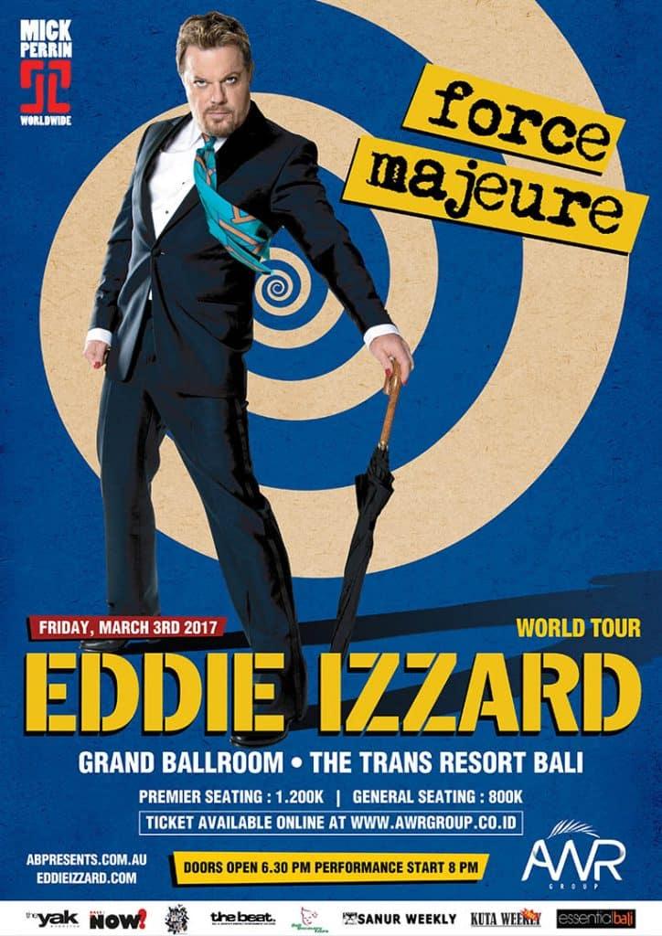 EDDIE IZARD poster