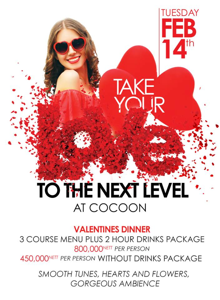cocoon to the next valentine 14th feb