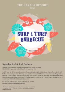 every saturday surf & turf barbecue (small)