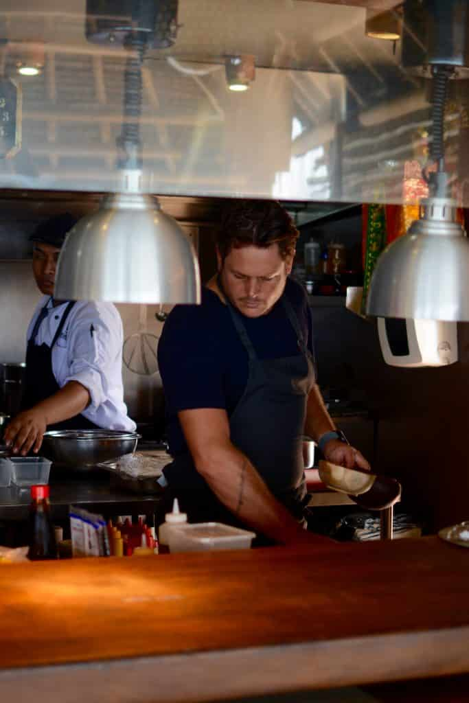 Chef James Viles