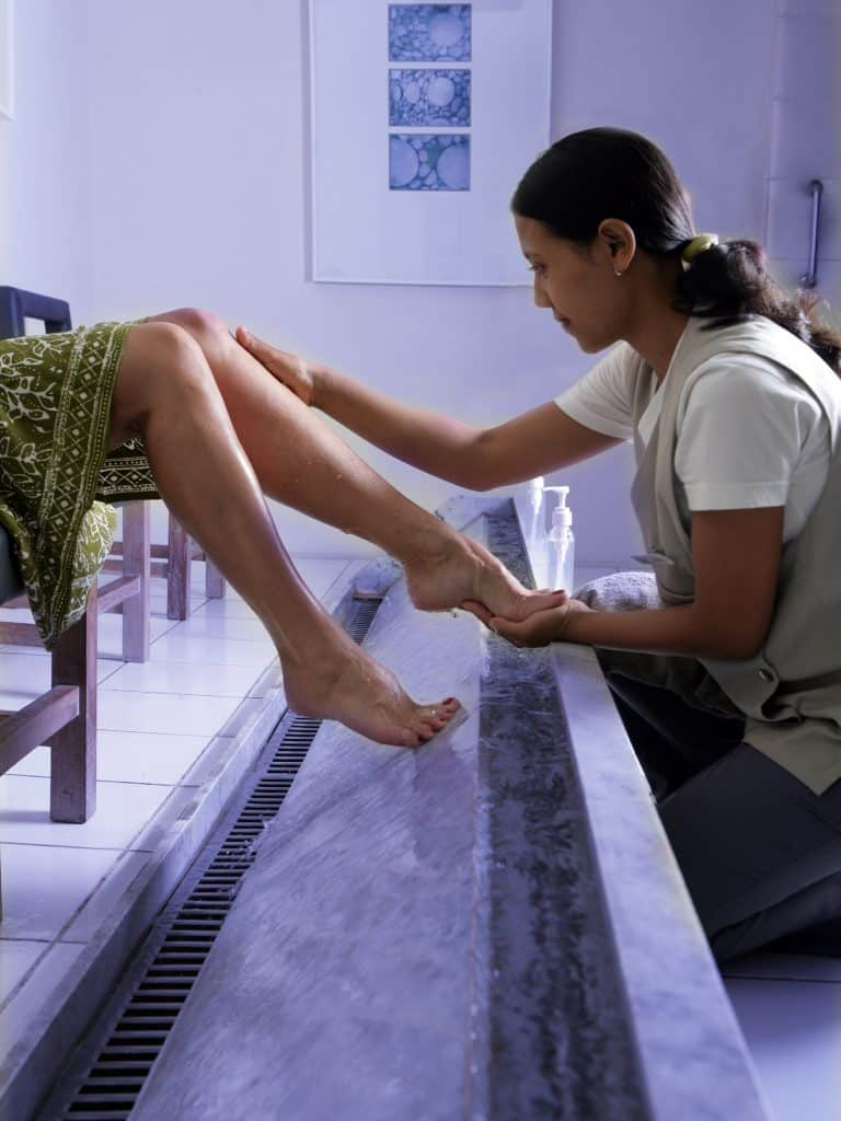 Reflexology at Chill, Seminyak