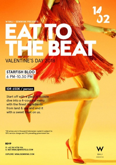 Valentine's Day Eat To The Beat