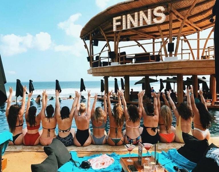 Finns beach Club Bali