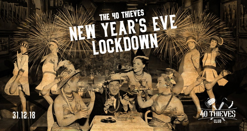 New Year's Eve Lock Down @ 40 Thieves - Bali travel guide