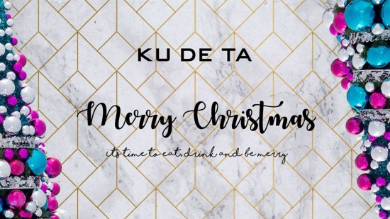 Eat, drink and be merry at Kudeta's family-style Christmas lunch