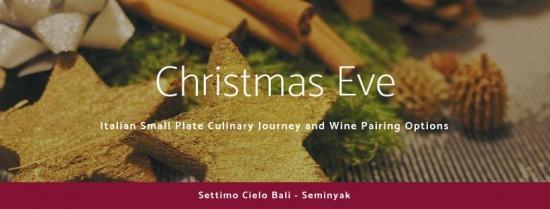 Celebrate the Italian way with Settimo Cielo's Christmas Culinary Journey.