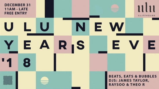 Welcome the new year with eats, beats and bubbles Cliffhouse-style.