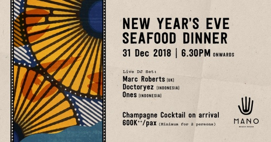 Get an early start with sunset cocktails followed by a glittering seafood dinner at Mano Beach House.