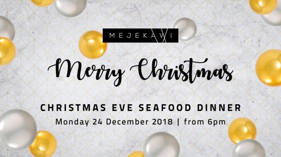 Christmas Eve Seafood Dinner at Mejekwai