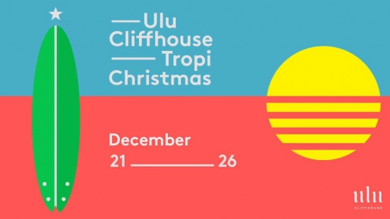 Celebrate a tropical Christmas with a view at Ulu Cliffhouse.