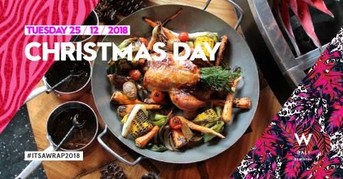 One of the most popular venues for Christmas brunch is at W Bali.