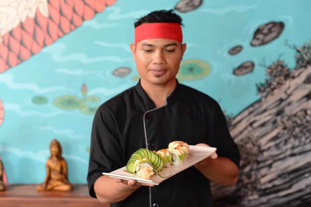 Sushi at Ji Tugu Hotel