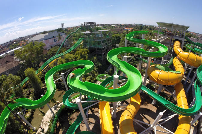 A day at Waterbom with 360 Bali