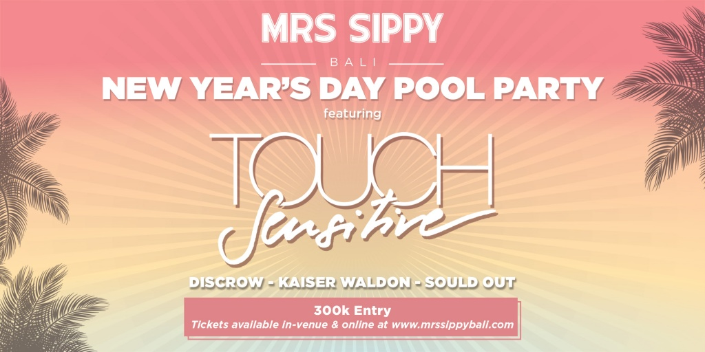 Mrs Sippy New Year's Day Pool Party
