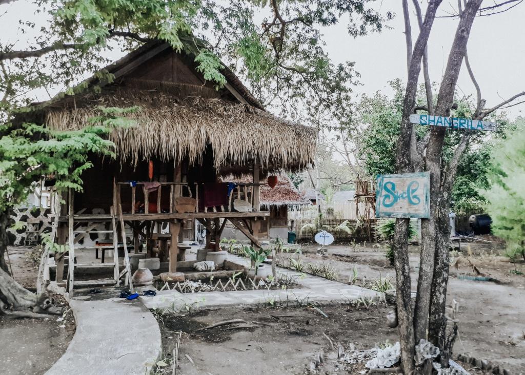 Gili Meno house