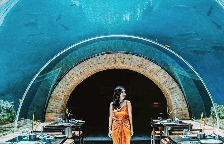 Koral underwater restaurant
