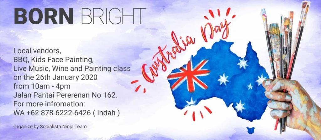 Born Bright Australian Day