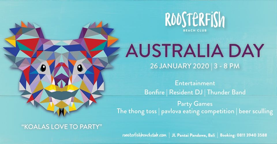 Roosterfish Australia Day 26 January