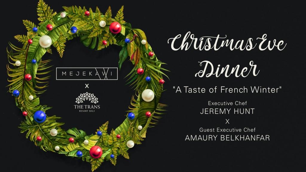Ku De Ta Christmas Eve Dinner 2020
