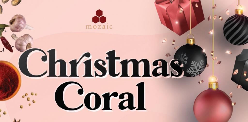 Mozaic Ubud Christmas Coral Lunch 2020