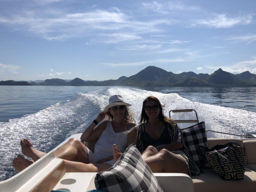 cruising Komodo